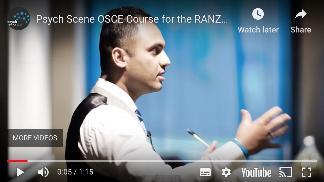 CTF OSCE Course for the RANZCP Exam by Psych Scene